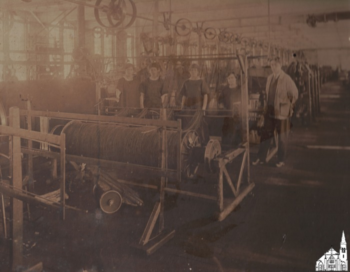 Interior American Woolen Mill [c.1910]